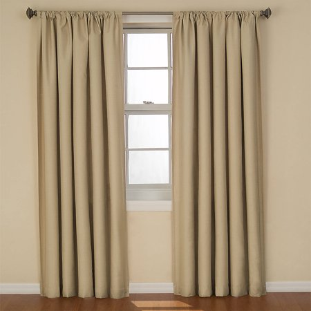 Eclipse Curtains Kendall Blackout Energy Efficient Curtain Panel