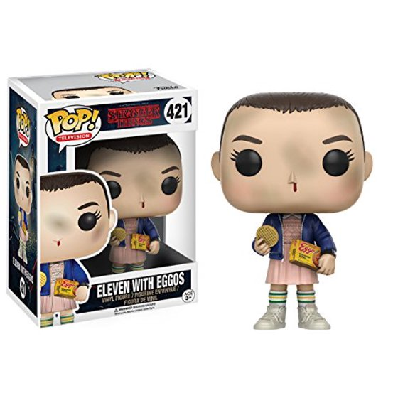 c24a7556a44 Funko POP! TV Stranger Things Eleven with Eggos - Walmart.com