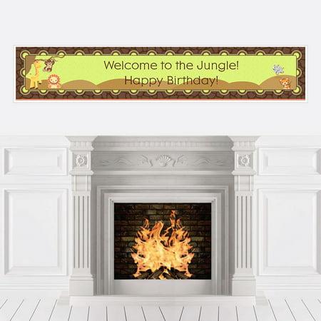 Funfari - Fun Safari Jungle - Party Decorations - Birthday Party
