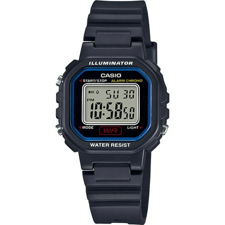 Ladies Digital Casual Watch, Black
