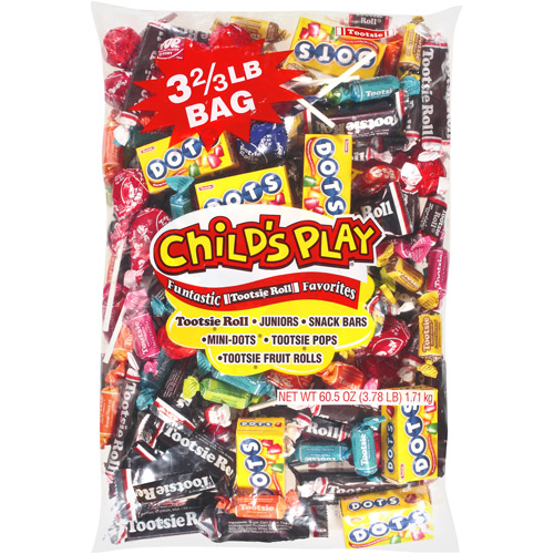 Tootsie Child's Play Candy Assortment 60.5oz