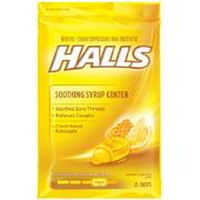 6 Pack - Halls Plus Drops Honey-Lemon 25 Each