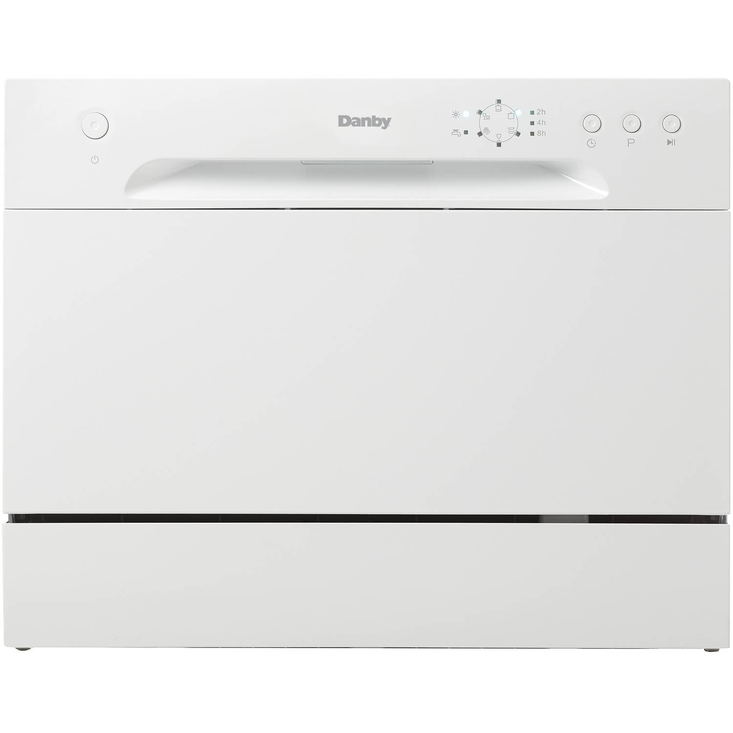 danby countertop dishwasher 6 place setting ss interior
