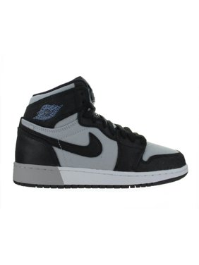 cacbadc81b2 Product Image Kids Air Jordan 1 Retro High GS Black Wolf Grey White Aluminum  332148-