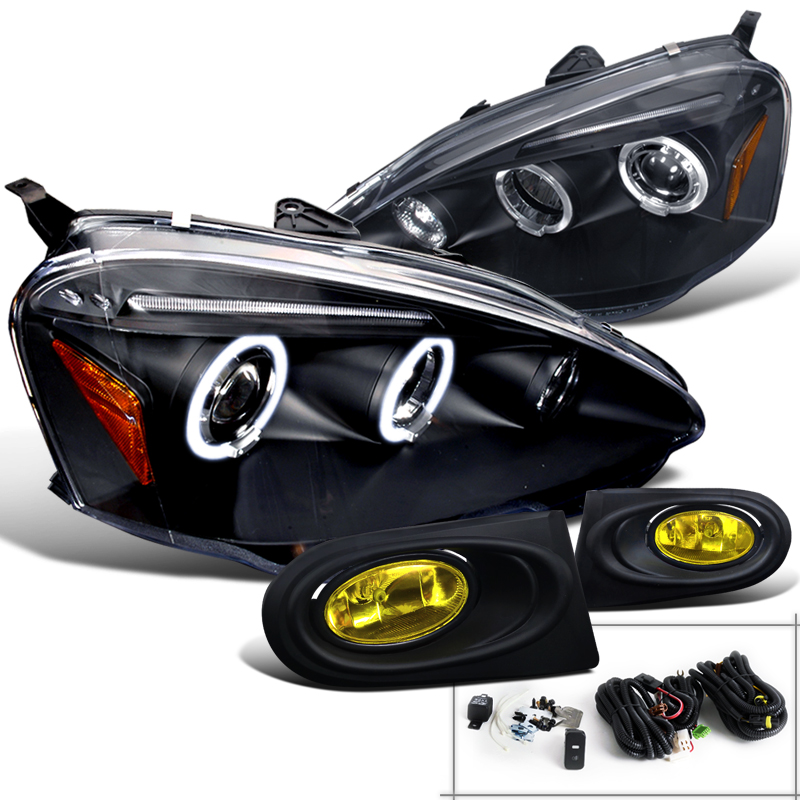Spec-D Tuning For 2002-2004 Acura Rsx Jdm Halo Black