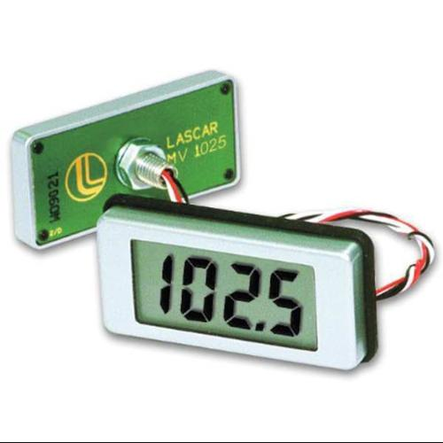LASCAR EMV 1025S-01 Voltmeter, 4 Digit, Drill Mount, 200mV