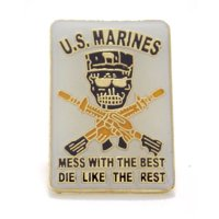 USMC Marines Corps Corps Special Forces Lapel Hat Pin Military PPM039