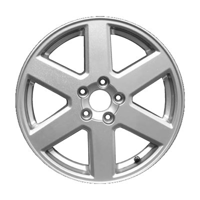 Wheel for 2003-2013 Volvo XC90 17x7 Silver Refinished 17 Inch Rim Volvo Wheels Rims