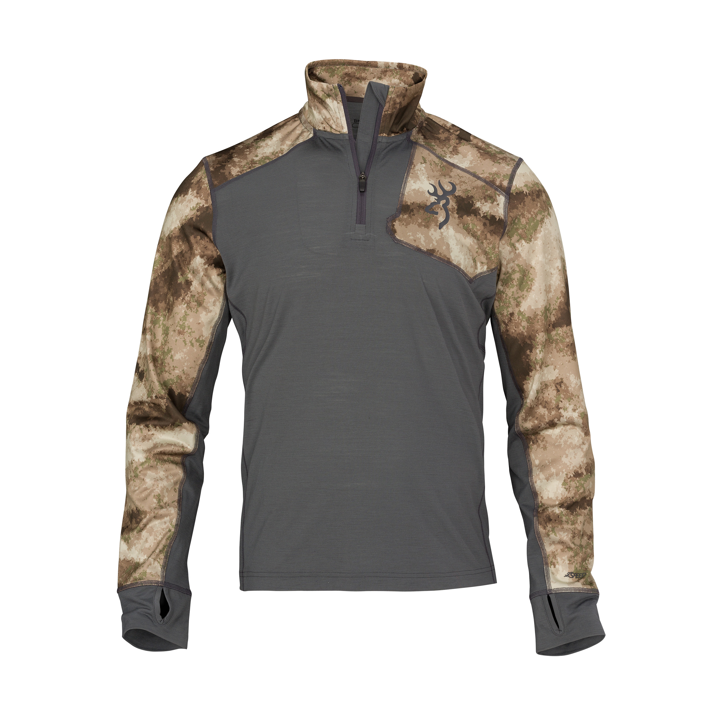 Browning Hell's Canyon Speed MHS-FM Base Layer Shirt ATACS Arid Urban, Large by Browning