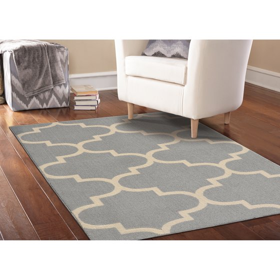 Garland rug quatrefoil area rug 5 39 x 7 39 Home furniture and rugs garland