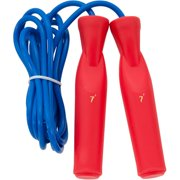 Champion Deluxe Ball Bearing Handle Speed Rope, 7', Red Handle