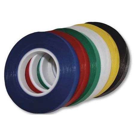MAGNA VISUAL CT2-R Chart Tape,1/16 In W x 54 Ft L,Red ()