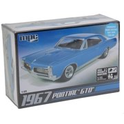 1/24 '67 Pontiac GTO, Assembly Required Skill Level 2. Ages 10 and up. By ROUND 2 LLC MPC Ship from US