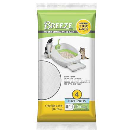 Purina Tidy Cats BREEZE Cat Pads Refill Pack - 4 ct. Pouch