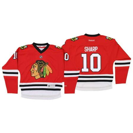 Reebok NHL Youth Girls Chicago Blackhawks Patrick Sharp #10 Replica Jersey
