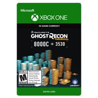 Xbox One Tom Clancy's Ghost Recon Wildlands Currency pack 11530 GR credits (email delivery)