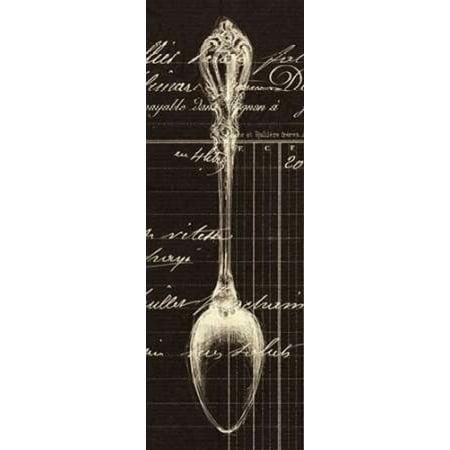 Spoon Document Canvas Art - Z Studio (24 x 48)