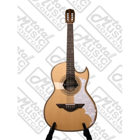 H. Jimenez Bajo Quinto (El Mu'sico)  solid spruce top with gig bag- Full body - One Mica - with  Seymour Duncan pickup,