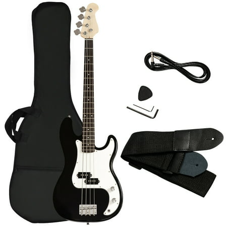 Gymax Electric Bass Guitar Full Size 4 String w/ Bag Strap Guitar Pick Amp Cord (Bass Guitar Amps For Sale South Africa)