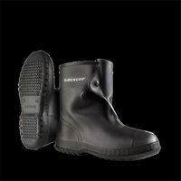 Dunlop 86020md 10 in. Viking Over The Shoe Heavy Flex O Thane & PVC Boot, Black - Medium
