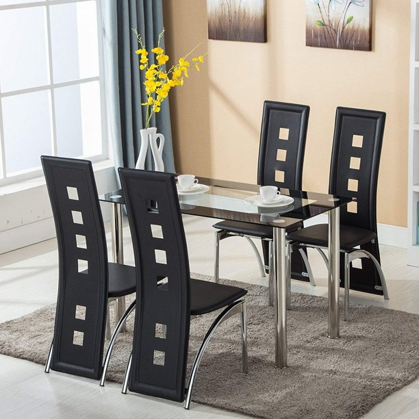 clearance dining room sets clearance 5 piece dining room table sets modern tempered glass dining table set heavy duty 2713