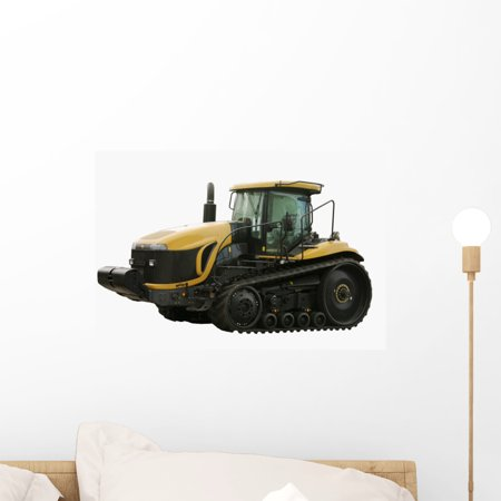 Caterpillar Tractor Wall Decal by Wallmonkeys Peel and Stick Graphic (18 in W x 12 in H) - Caterpillar Wall