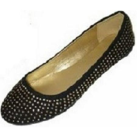 59145f92e  amz brand  - shoes 18 womens faux suede rhinestone ballerina ballet flats  shoes 5 colors (7 8