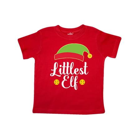 - Christmas Littlest Elf Holiday Toddler T-Shirt