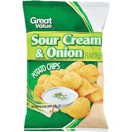 great value sour cream onion potato chips 11 5 oz. Black Bedroom Furniture Sets. Home Design Ideas