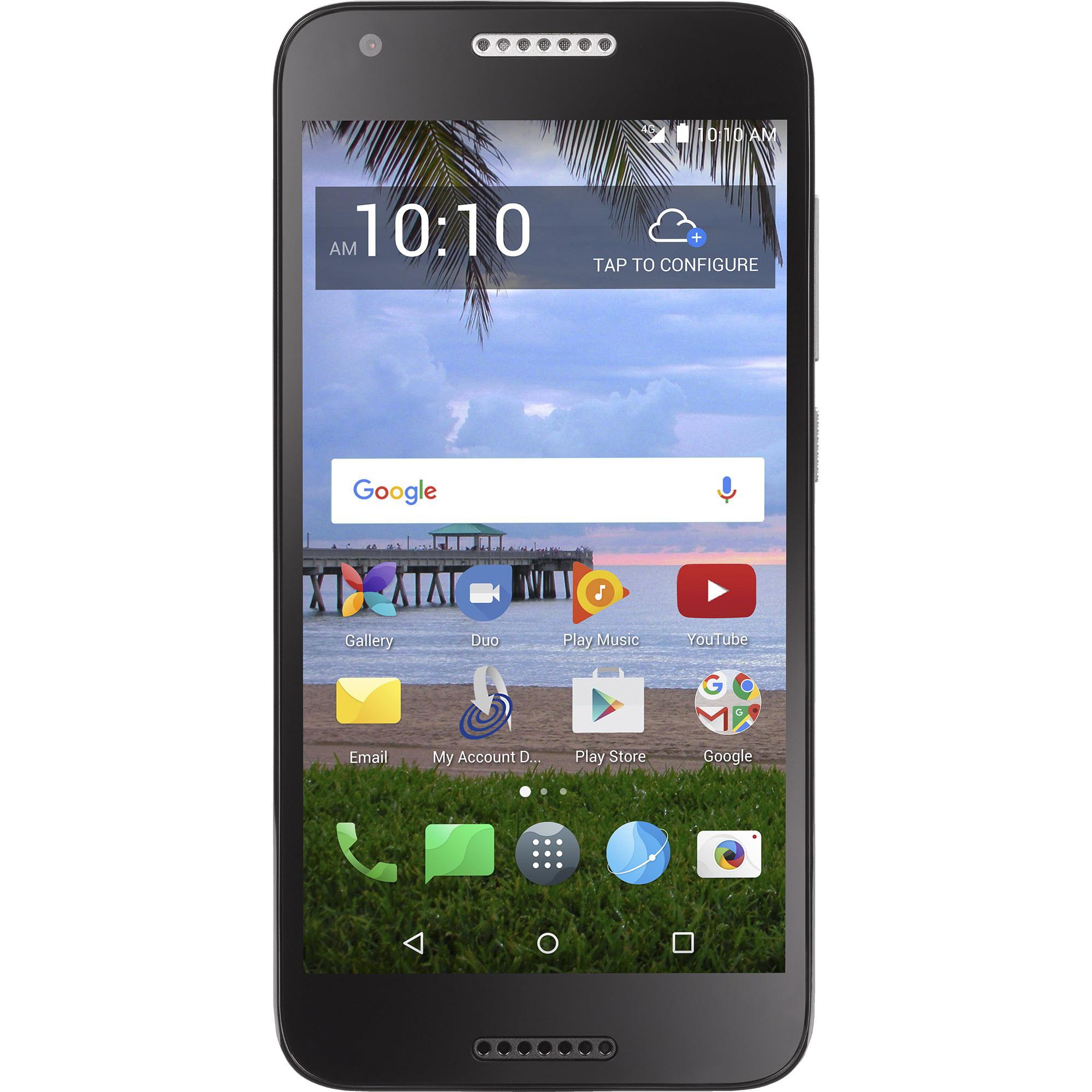 Straight Talk Alcatel ZIP Prepaid Smartphone