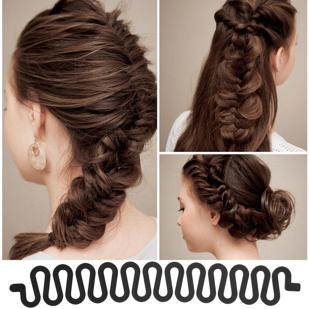 Hair Braiding Tool Roller With Magic Hair Centipede Wavy Hair