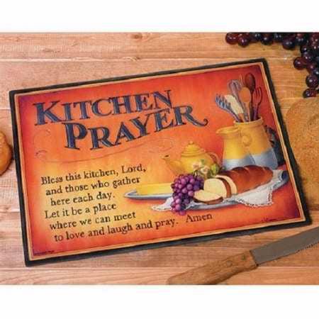 Cutting Board-Kitchen Prayer