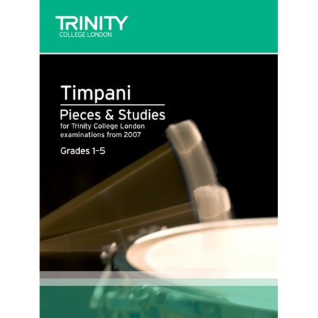 Percussion Exam Pieces & Studies Timpani: Grades 1-5 (Trinity Guildhall Percussion Examination Pieces & Studies) (Sheet music)