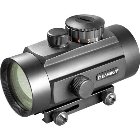40mm Dual Color Red Dot Scope with Dual-Size Mounts thumbnail