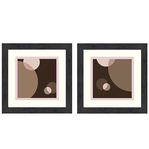 Composition Wall Décor, Set of 2