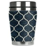 Mugzie brand 12-Ounce Travel Mug with Insulated Wetsuit Cover - Aladdin