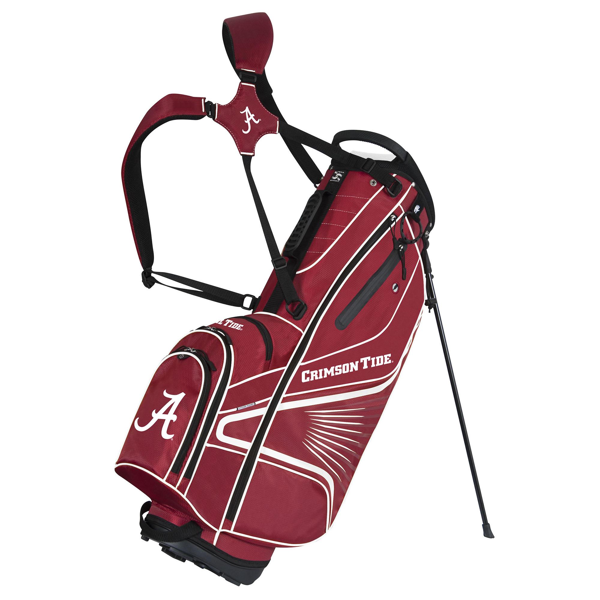 Team Effort Alabama Crimson Tide GridIron III Stand Golf Bag