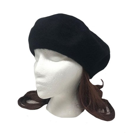 Casaba Women's Wool Warm Beret French Style Artsy Lightweight Fashion Hats Caps