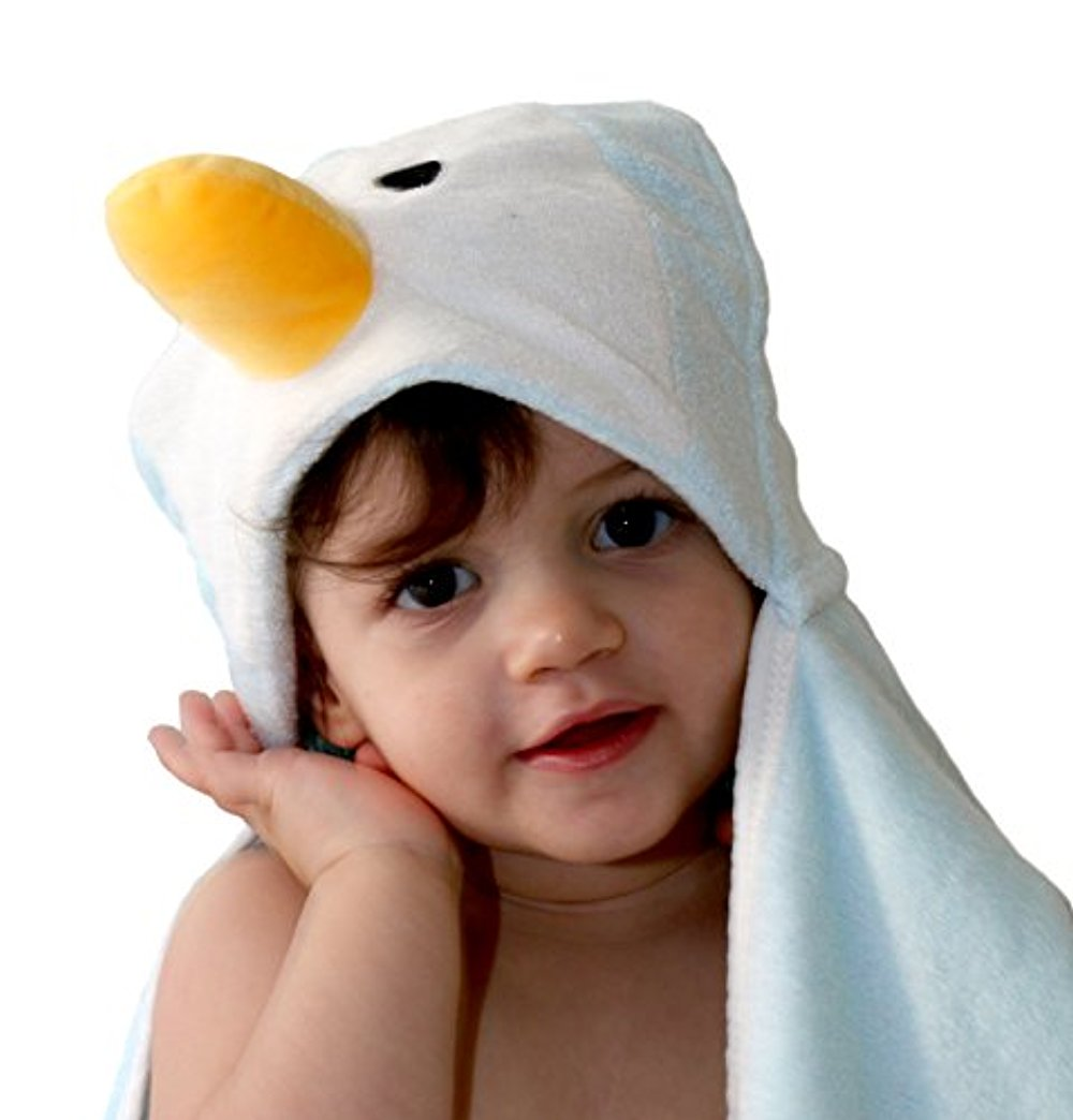 Extremely Soft Bamboo Hooded Towel   Bonus Free Washcloth   Hooded Baby Towel   3d Animal Design   Great Gift... by RockRose L%26S