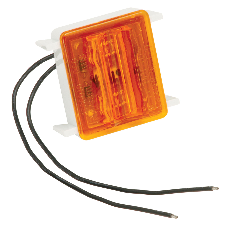 Bargman 42-86-412 Wrap Around Clearance Light #86 LED Upgrade Module - Amber