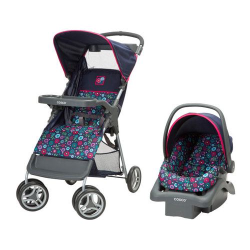 Cosco Lift and Stroll Travel System, Flower Garden