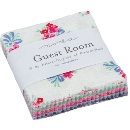 Guest Room Moda Mini Charm Pack by Kristyne Czepuryk; 42 - 2.5