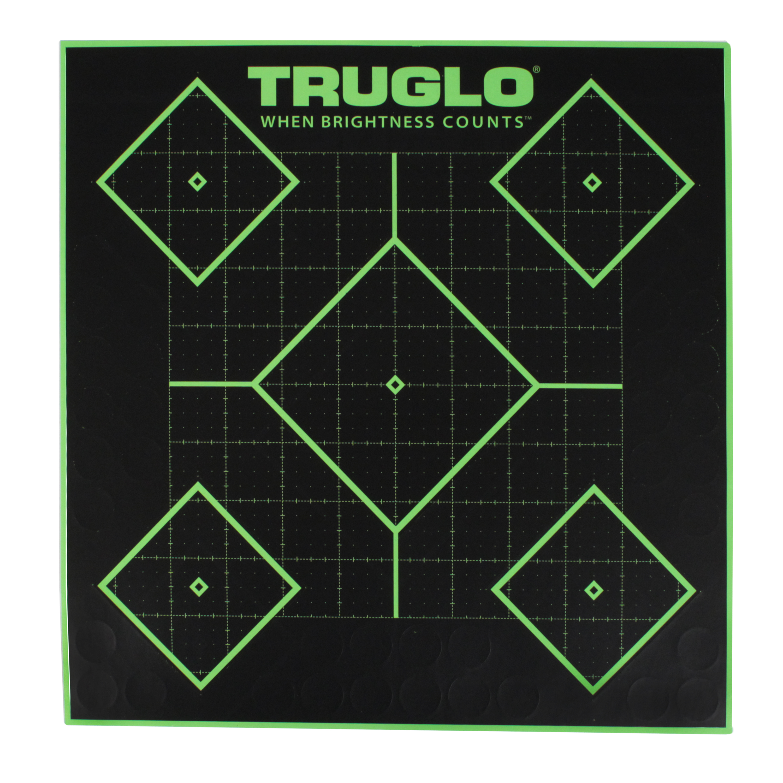 Truglo 5 Diamond Target 12x12 12 Pack