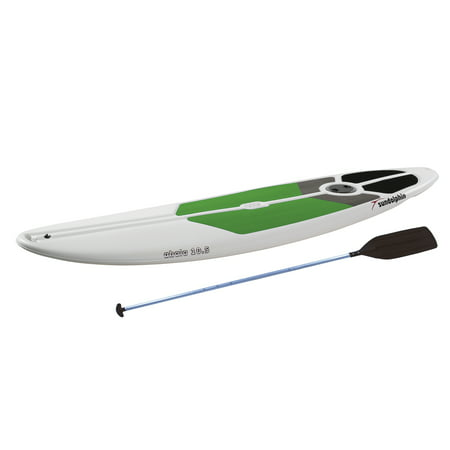 Sun Dolphin Ahala 10.5 Stand-up Paddle Board White/Lime, Paddle Included