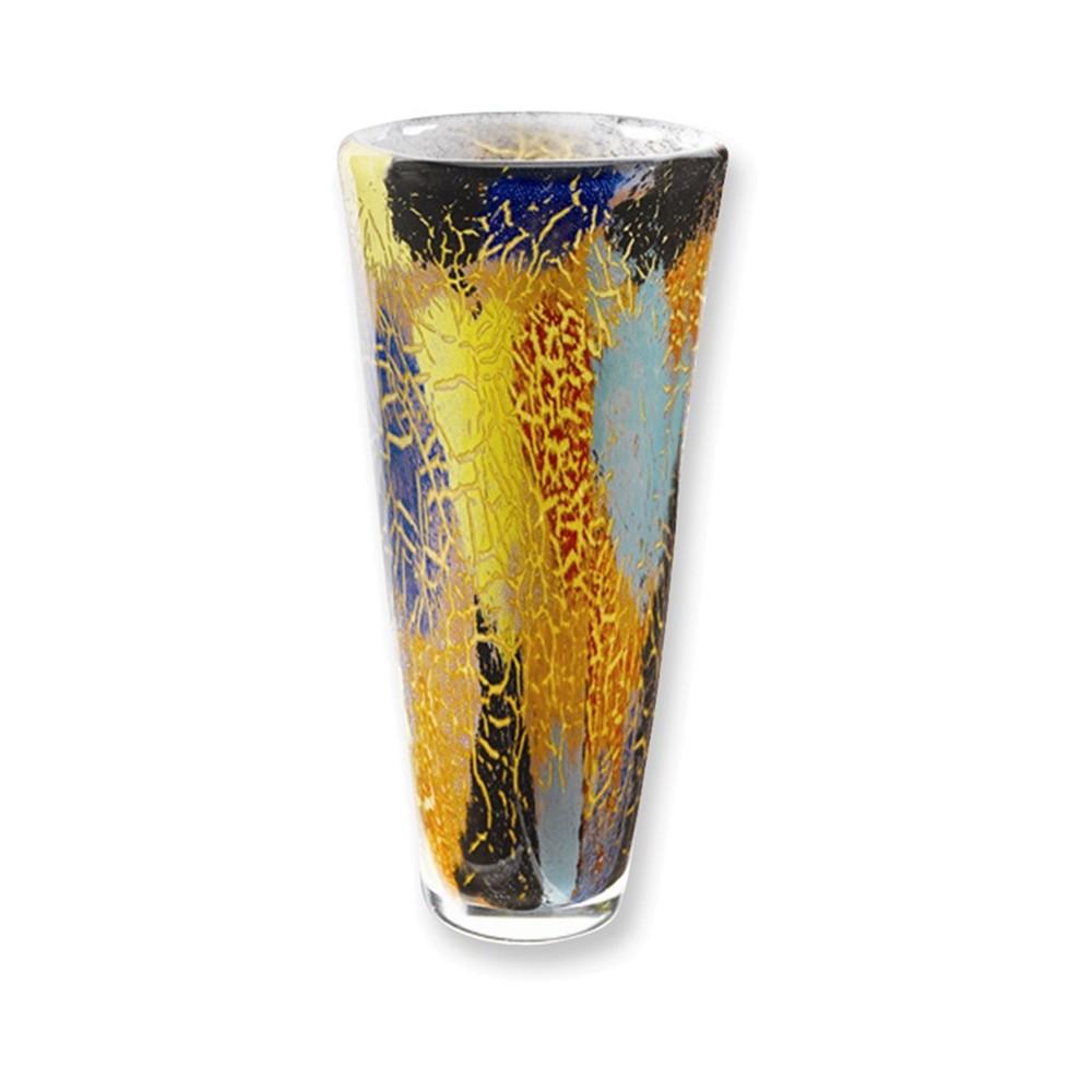 Badash Crystal 12in Firestorm Vase