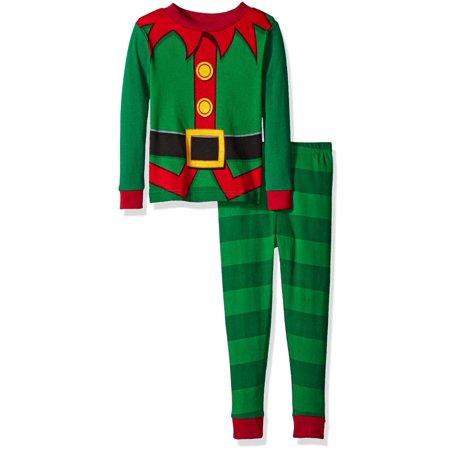 - Little Boys' Toddler Elf Cotton 2pc Pajama Set