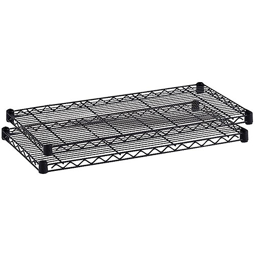 Safco Industrial Wire Extra Shelf, Black