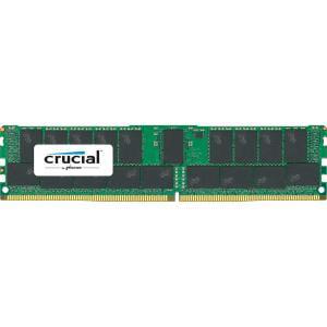 Crucial 128GB (4x32GB) DDR4 SDRAM 2400MHz 1.2V ECC Registered RDIMM Memory