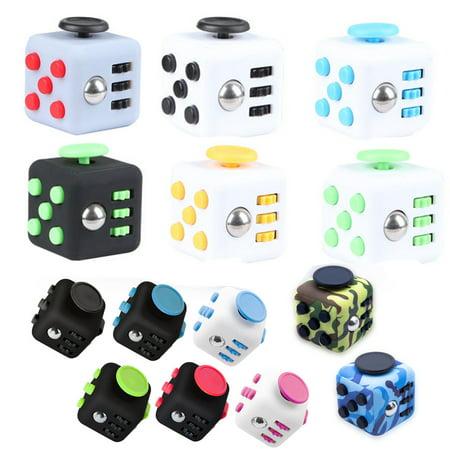 - Fidget Mano Spinner Giocattolo Cube 3D Anti-stress ADHD Adulto Bambino EDC Gifts