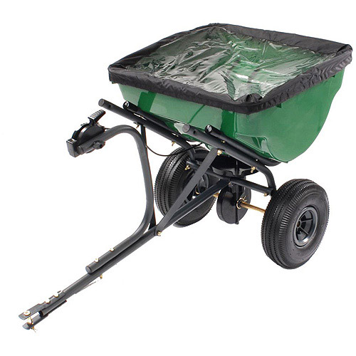 Precision 100-Pound Tow-Behind Broadcast Spreader